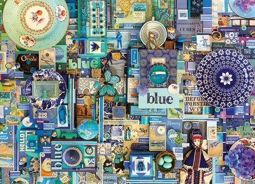 Cobble Hill puzzle 1000 Teile - Blue