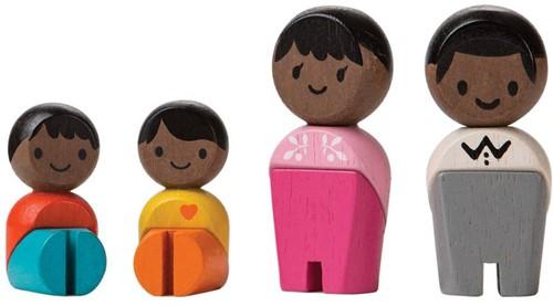 Plan Toys Afrofamilie