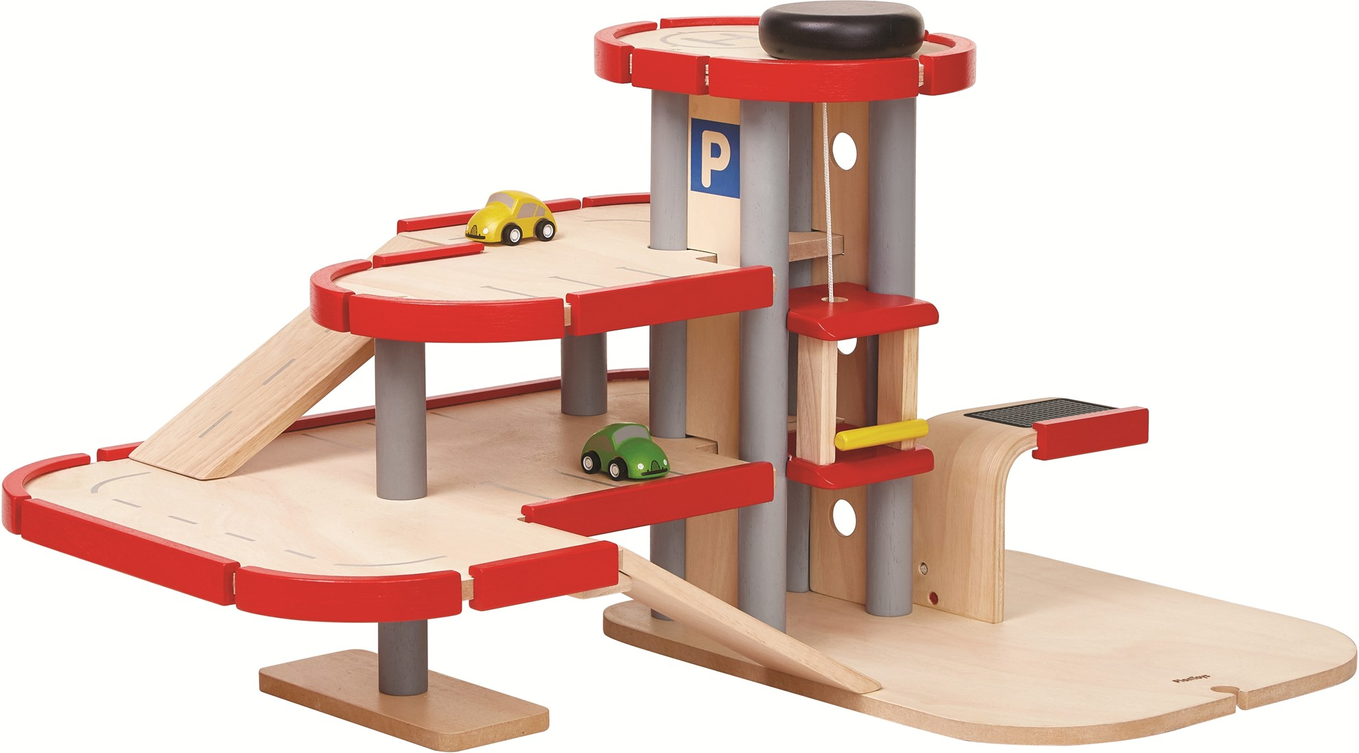Plan Toys Garage : Plan toys houten speelgoed garage 6271 planet happy de