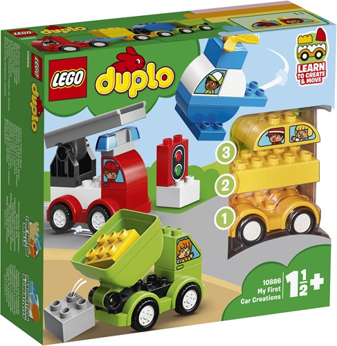 LEGO DUPLO Meine ersten Fahrzeuge - 10886