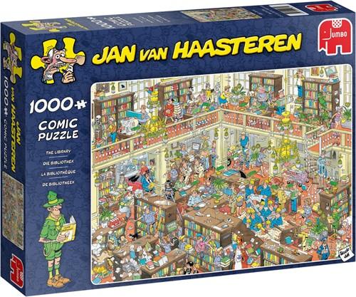 Jan van Haasteren Die Bibliothek 1000 Teile