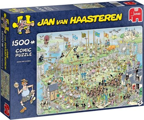Jan van Haasteren Highland Games 1500 Teile