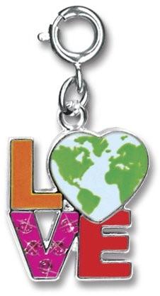 Charm It  sieraden bedeltje love aarde