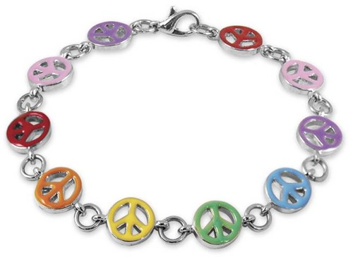 Charm It  sieraden armband peace