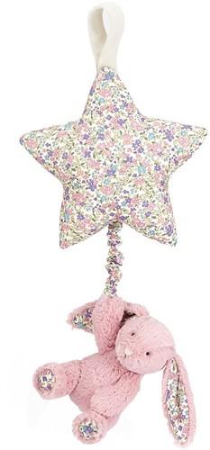 Jellycat Bashful Spieluhr Hase Blossom Tulpe - 28cm