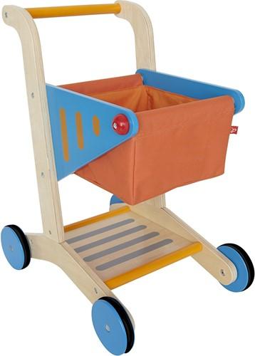 Hape Holzküche Zubehör Einkaufswagen