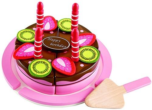 Hape Holzküche Zubehör Geburtstagskuchen