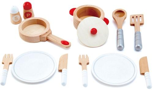 Hape All inclusive Cook & Serve Set