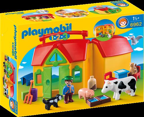 Playmobil 1.2.3 My Take Along Farm Baufigur