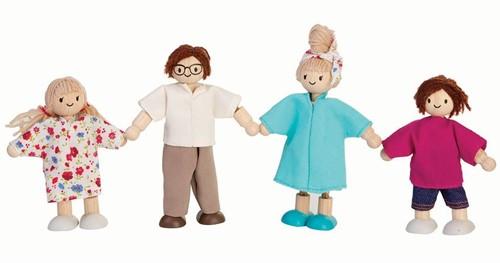 Plan Toys Moderne Puppenfamilie
