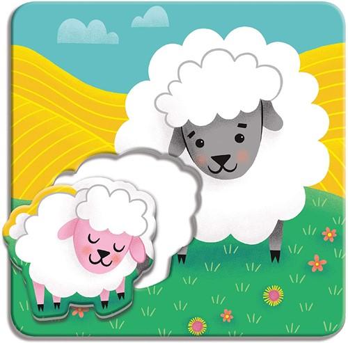Mudpuppy Match-Up Puzzle/Farm Babies