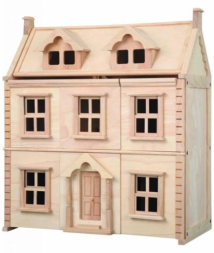 Plan Toys  Holz Puppenhaus Viktorianisches Puppenhaus