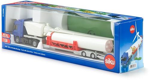 Siku LKW mit Windkraftanlage