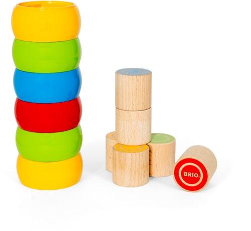 BRIO Spielzeug Motorik-Stapelturm