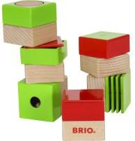 Brio Sensorisches Spielzeug Holz Sensorik-Steine 30436