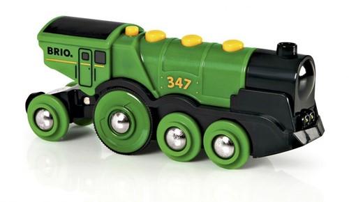 Brio Holz Eisenbahn Grüner Gustav 33593