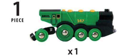 Brio Holz Eisenbahn Grüner Gustav 33593-3