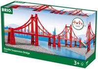 Brio Holz Eisenbahn Zubehör Hängebrücke 33683-2