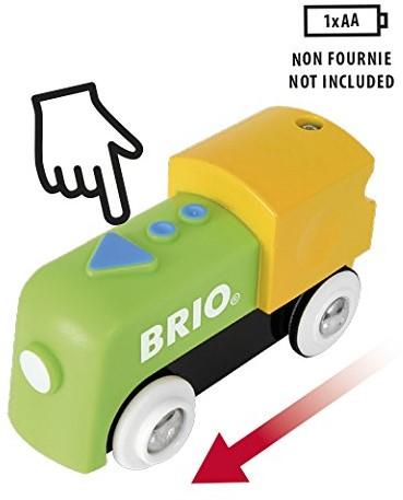 Brio Holz Eisenbahn Zubehör Meine erste BRIO Batterielok 33705-2