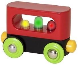 Brio Holz Eisenbahnwaggon Mein erster BRIO Waggon mit Licht 33708