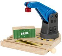 Brio Holz Eisenbahn Gebäude Eisenbahn-Magnetkran 33866