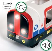 Brio Holz Eisenbahn Zubehör U-Bahn mit Licht und Sound 33867-3