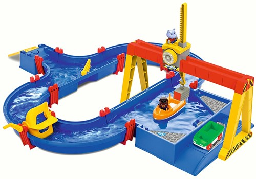 Aquaplay 1532 Containerhafen - Wasserbahn
