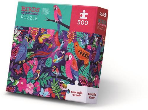 Crocodile Creek 500 pcs Boxed/Birds of Paradise