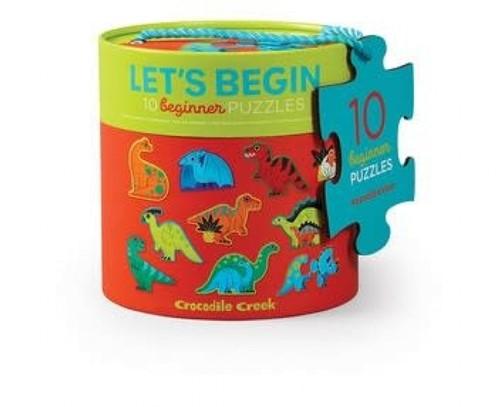 Crocodile Creek 2pcs Let's Begin Puzzle/Dinosaurs