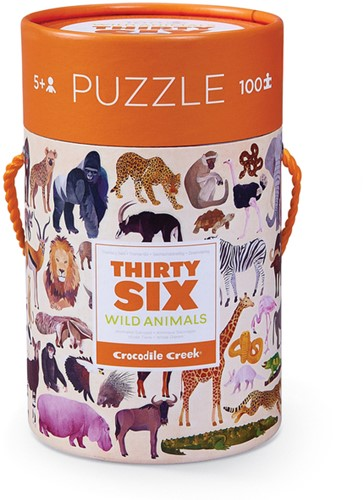 Crocodile Creek 4054-2 Puzzle Puzzlespiel 100 Stück(e)