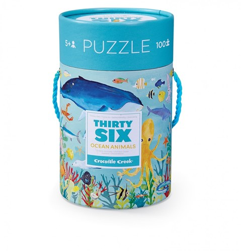 Crocodile Creek 4054-3 Puzzle Puzzlespiel 100 Stück(e)