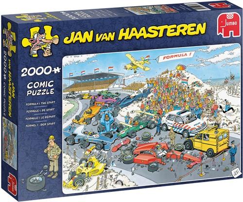 Jan van Haasteren Formel 1 Der Start 2000 Teile