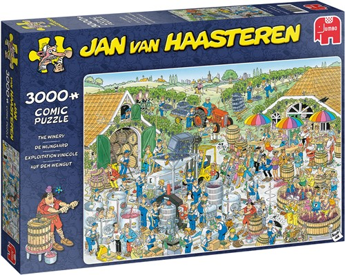 Jumbo puzzel Jan van Haasteren De Wijnmakerij - 3000 stukjes