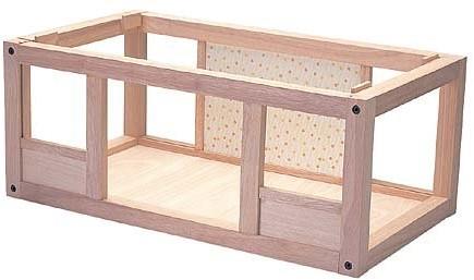 Plan Toys  Holz Puppenhaus Untergeschoss