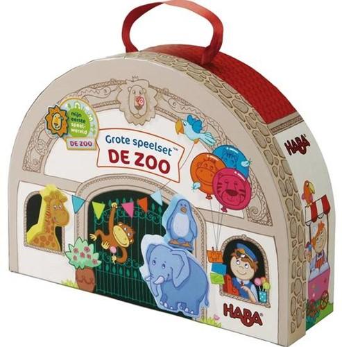 HABA Mijn eerste speelset - De zoo - Grote speelset In de dierentuin (Nederlands)
