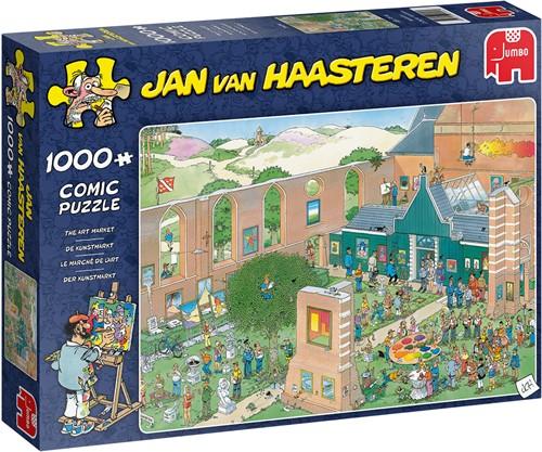 Jumbo puzzel Jan van Haasteren De Kunstmarkt - 1000 stukjes