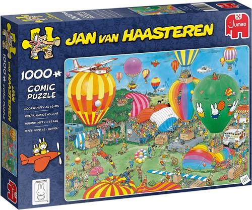 Jumbo puzzel Jan van Haasteren viert Nijntje 65 jaar - 1000 stukjes