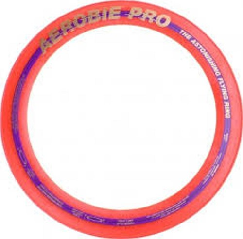 Aerobie Sprint Werpring rood - 25 cm