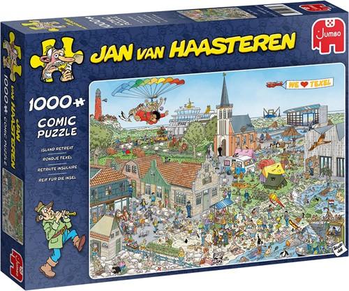 Jumbo puzzel Jan van Haasteren Texel - 1000 stukjes title not final yet