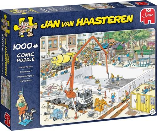 Jumbo puzzel Jan van Haasteren Swimming Pool under Construction - 1000 stukjes title not final yet