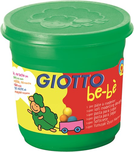Giotto Pot of 220 gr in schoolpack of 8 pcs  bébé