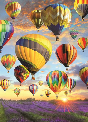 Cobble Hill puzzle 1000 Teile - Hot Air Balloons
