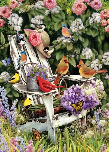Cobble Hill puzzle 1000 Teile - Summer Adirondack Birds