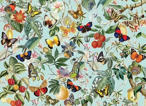 Cobble Hill puzzle 1000 Teile - Fruit and Flutterbies