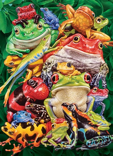 Cobble Hill puzzle 1000 Teile - Frog Business
