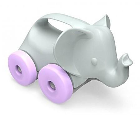 Green Toys Elefant auf Rädern