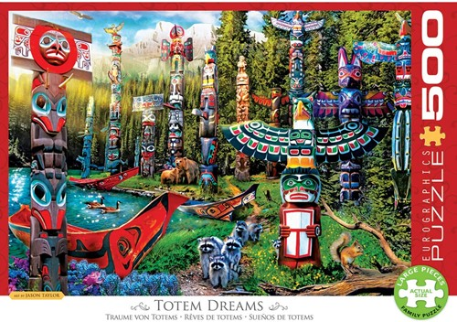 Eurographics Puzzle Canadian Dream - 500 Teile