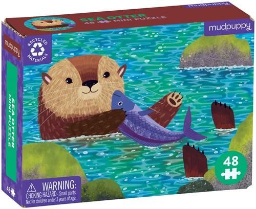 Mudpuppy Mini Puzzle/Sea Otter