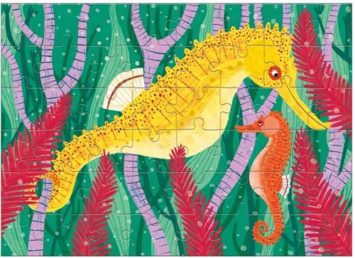 Mudpuppy Mini Puzzle/Seahorse