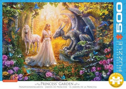 Eurographics Puzzle Princess' Garden - 500 XL Teile